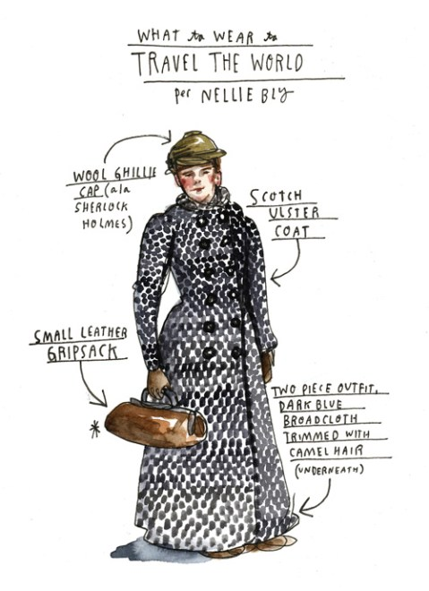 What Girls Are Good For: 20-Year-Old Nellie Bly's Fierce