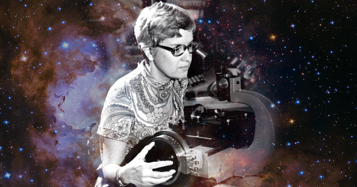 trailblazing astronomer vera rubin on science  stereotypes