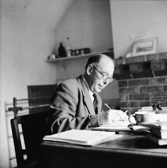 Image result for C. S. Lewis writing