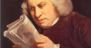 Samuel Johnson on Writing and Creative Doggedness