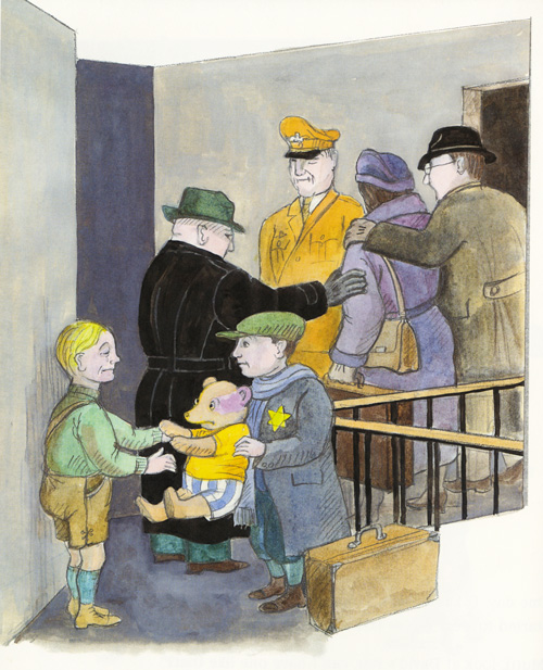 an autobiography on a teddy Otto, a teddy bear belonging to a jewish boy in germany at the outbreak of world  war 2, is given to his friend oskar when david and his family are taken away in.