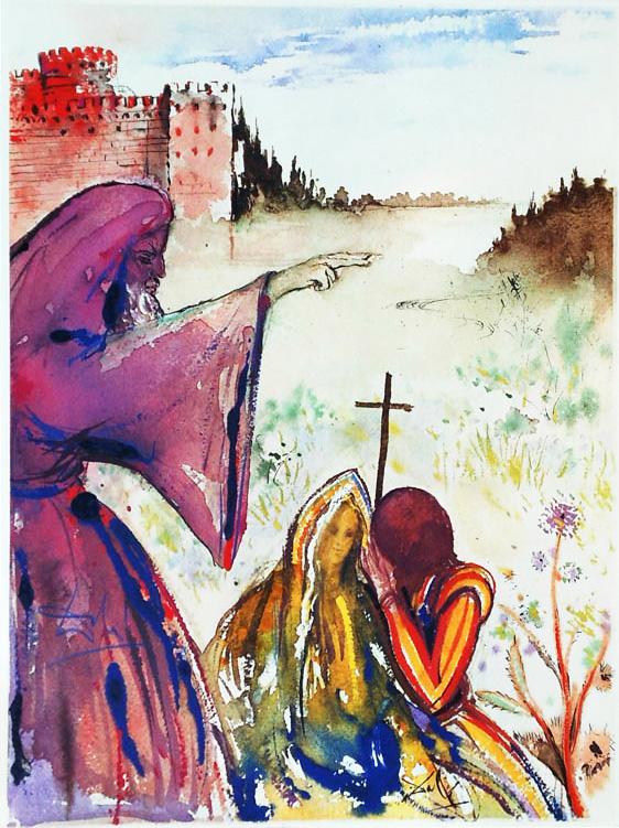 salvador dal u00ed u2019s rare 1975 illustrations for  u201cromeo and