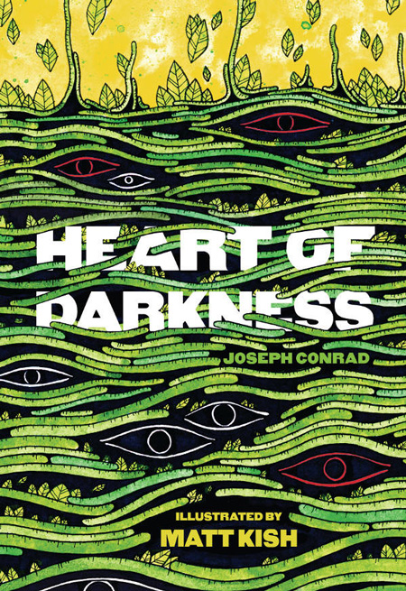 Every Page of Joseph Conrad's Heart of Darkness, Illustrated by Self-Taught Artist Matt Kish