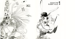Alice in Wonderland Illustrated by Ralph Steadman: A 1973 Gem
