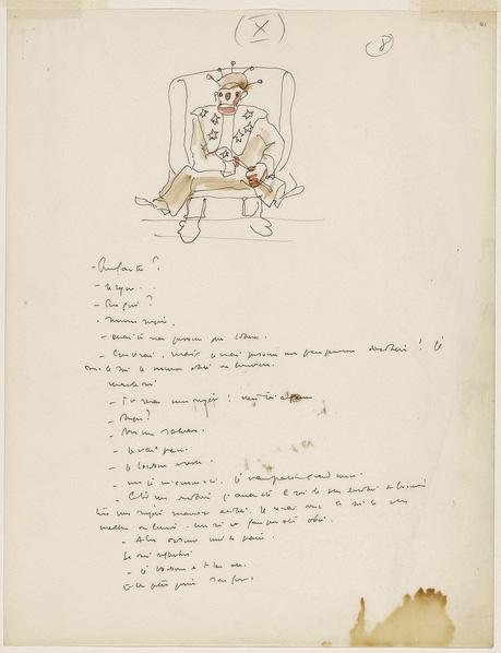 Antoine De Saint Exupery S Original Watercolors For The Little Prince Brain Pickings