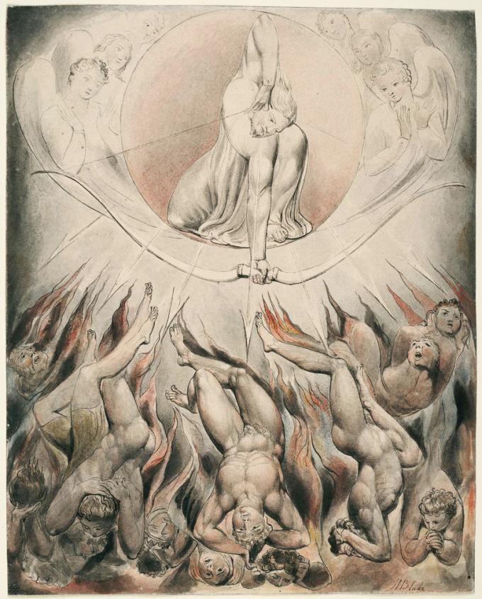 Satan Sin And Death Paradise Lost Book: Aesthetic Rapture Between Heaven And Hell: William Blake