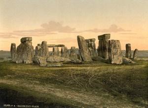 Virginia Woolf Visits Stonehenge