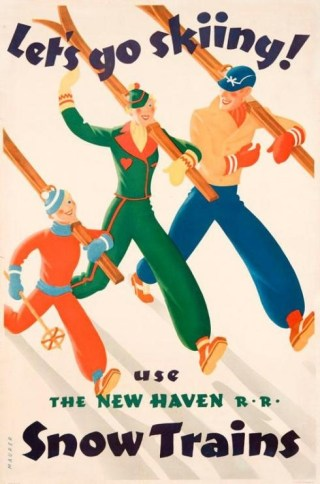 Gorgeous Vintage Posters from the Golden Age of Skiing