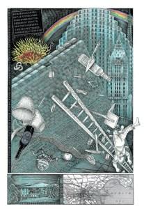 John Vernon Lord's Whimsical Illustrations for James Joyce's <em>Finnegans Wake</em>