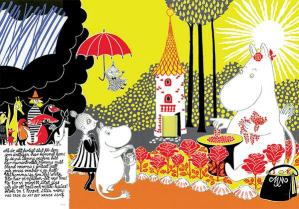 The Book about Moomin, Mymble and Little My: Tove Jansson's Playful and Philosophical Vintage Masterpiece