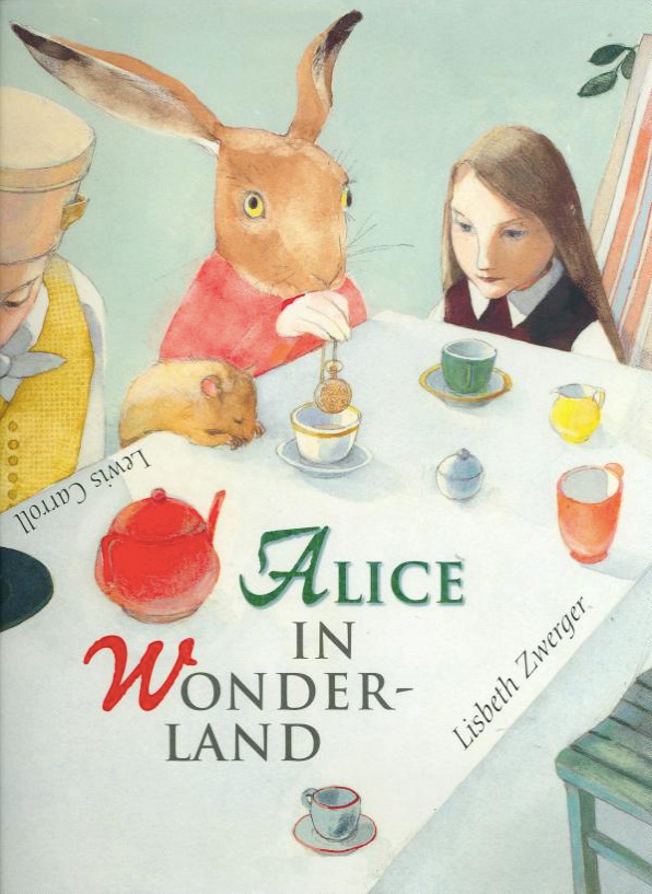 Lisbeth Zwerger's Imaginative Illustrations for Alice in Wonderland