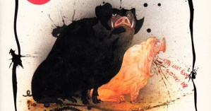 "George Orwell's ""Animal Farm"" Illustrated by Ralph Steadman"