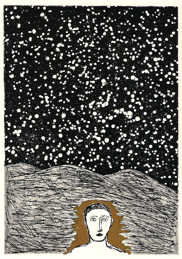 Rare and Stunning Etchings for Ulysses by Italian Artist Mimmo Paladino