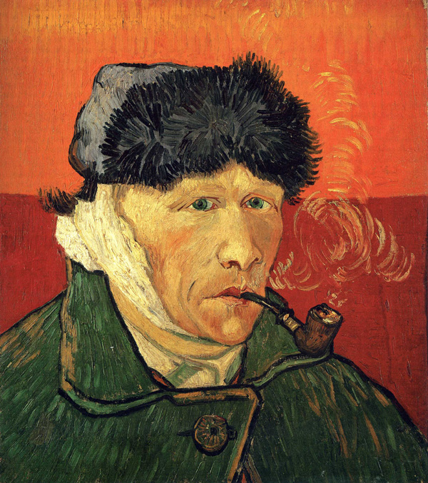 Image result for 1. Van Gogh cut off his ear because he suffered from a mental disease