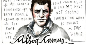 Albert Camus on Happiness and Love, Illustrated by Wendy MacNaughton