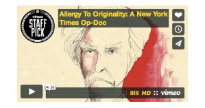 Allergy to Originality: Mark Twain and the Remix Nature of All Creative Work, Animated