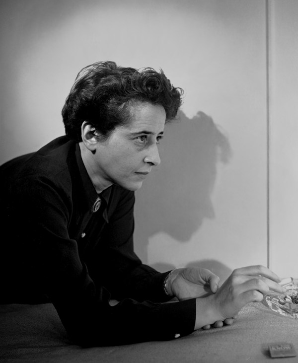 Hannah Arendt By Fred Stein 1944 Photograph Courtesy Of The Fred Stein Archive