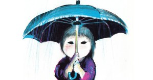 Umbrella: A Tender Illustrated Love Letter to Time, Anticipation, and the Art of Waiting by Mid-Century Japanese Artist Taro Yashima