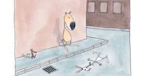 The Flat Rabbit: A Minimalist Scandinavian Children's Book about Making Sense of Death and the Mysteries of Life