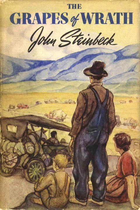 a comparison of john steinbecks of mice and men the grapes of wrath