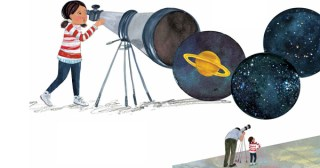 Bright Sky, Starry City: An Illustrated Love Letter to Our Communion with the Cosmos, Celebrating Women Astronomers