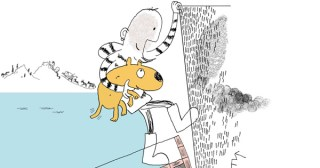 Why Dogs Have Wet Noses: An Irreverent Illustrated Reimagining of Noah's Ark