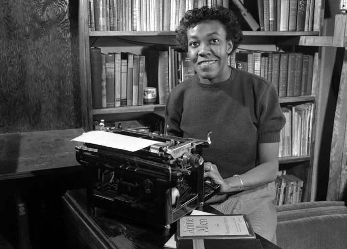 Gwendolyn Brooks, 1957 (Photograph: Bettmann/CORBIS)