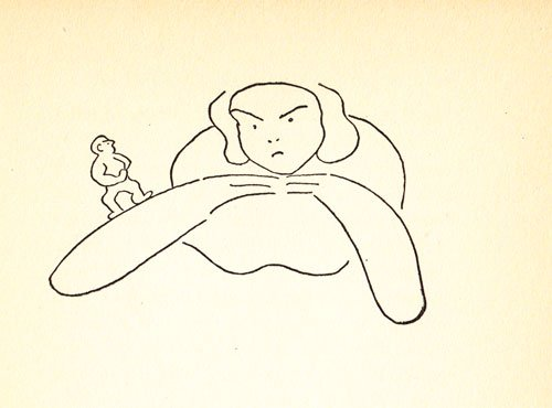 Art by James Thurber from Is Sex Necessary?: Or Why You Feel the Way You Do, his 1929 collaboration with E.B. White
