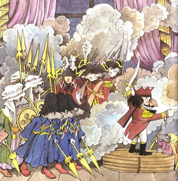 Art from Maurice Sendak's take on Nutcracker