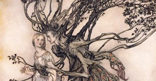 Arthur Rackham's Rare and Revolutionary 1917 Illustrations for the Brothers Grimm Fairy Tales