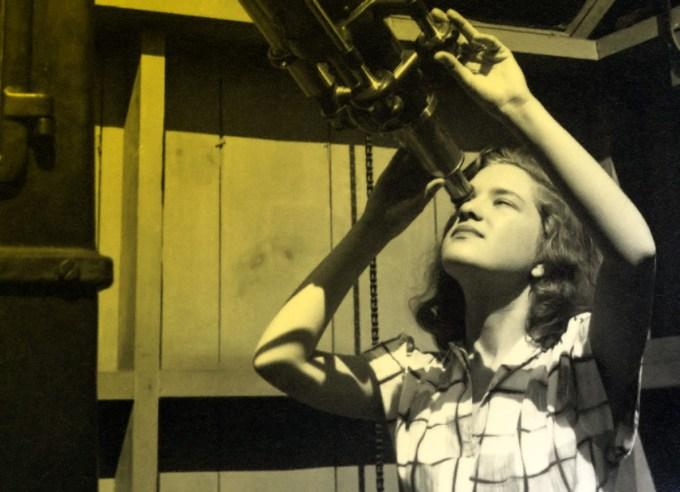 Vera Rubin as an undergraduate at Vassar, 1940s
