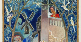 Beautiful Vintage Illustrations for Scheherazade's Stories and Scandinavian Fairy Tales by Swedish Modernist Pioneer GAN