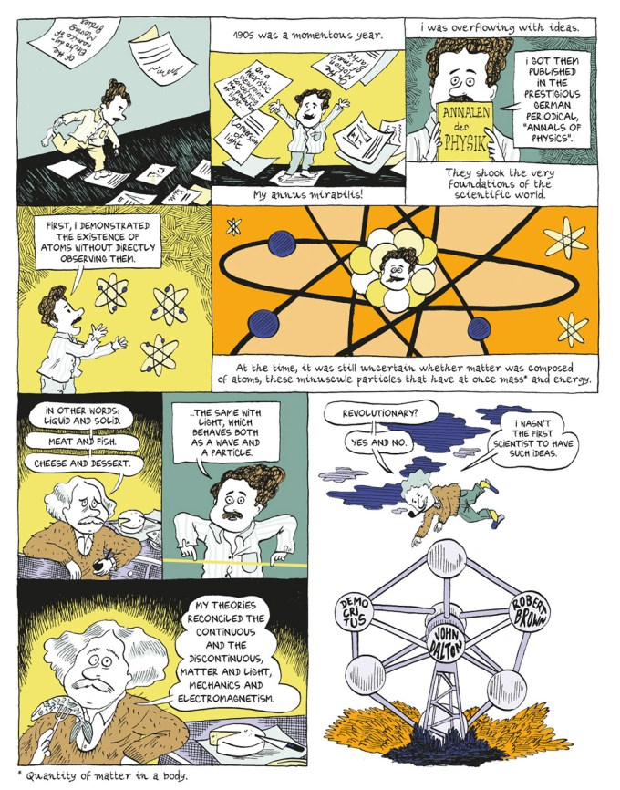 Einstein's Brilliant and Unusual Life, in a Graphic Novel – Brain