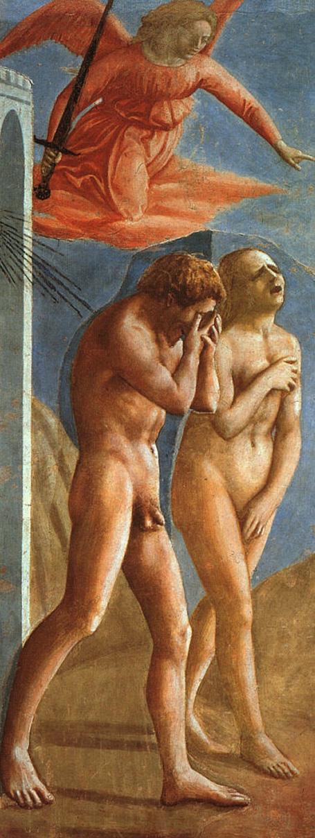 Masaccio, Expulsion from the Garden of Eden