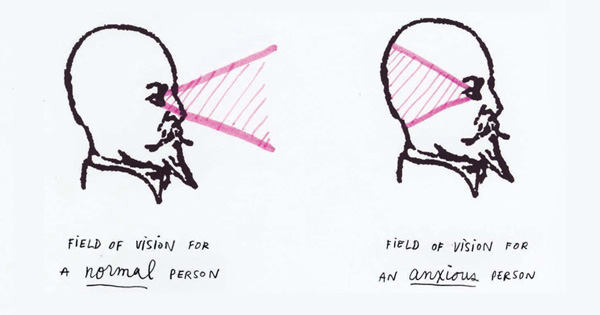 A wonderfully honest illustrated meditation on what it's like to live with anxiety and how to break free