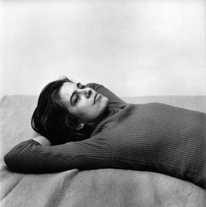 Susan Sontag by Peter Hujar