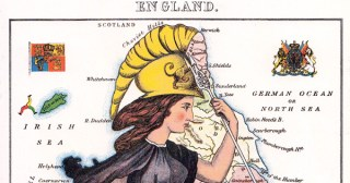 Geographical Fun: A Victorian Teenage Girl's Impressive Cartographic Caricatures of European Countries and Their National Stereotypes