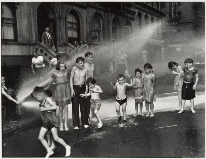 """Summer on the Lower East Side"" by Weegee, 1937 (International Center of Photography)"