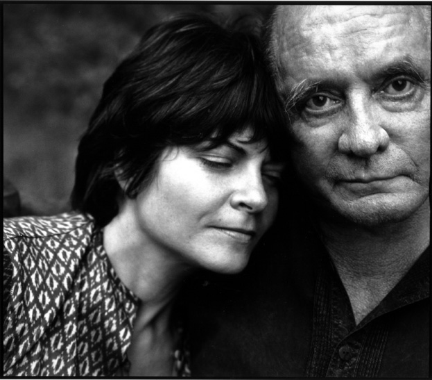 Rosanne Cash and Johnny Cash (Photograph: Annie Liebovitz)