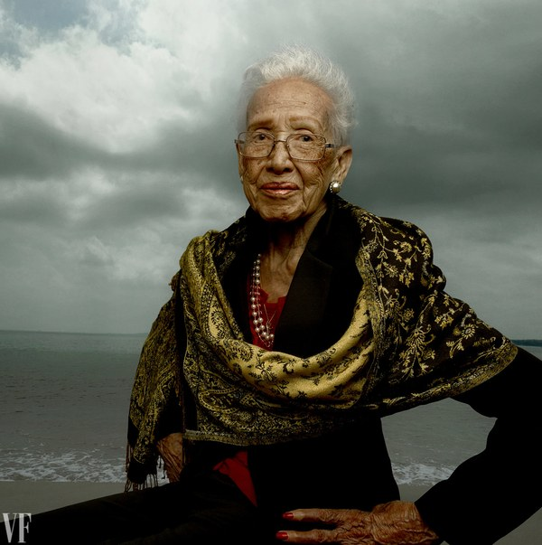 Katherine Johnson, age 98 (Photograph: Annie Leibovitz for Vanity Fair)