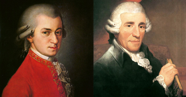 the relationship between haydn mozart and beethoven