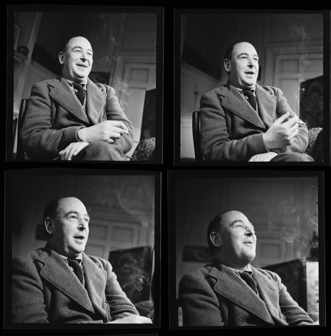 C.S. Lewis (Photograph: John Chillingworth)