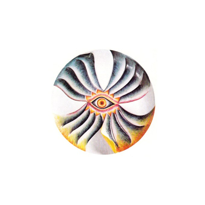 Caroline Herschel plate (Judy Chicago, The Dinner Party, 1979)