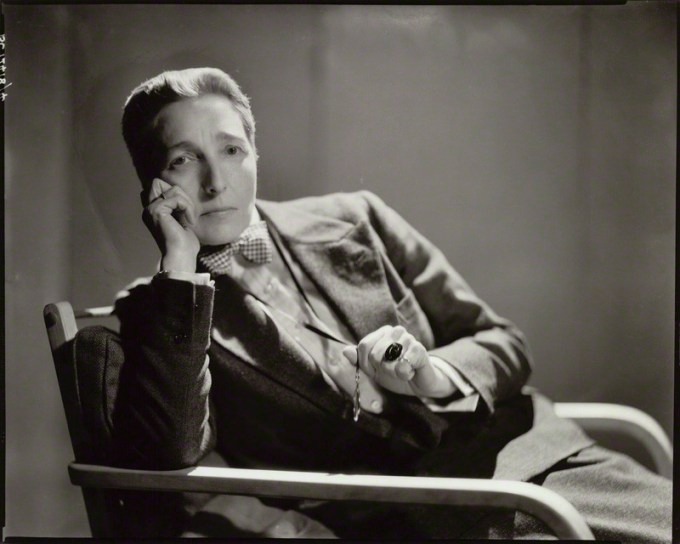 Radclyffe Hall by Howard Coster, 1932 (National Portrait Gallery