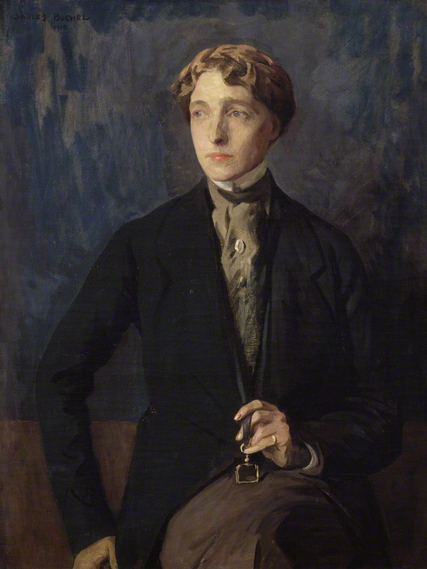 Radclyffe Hall by Charles Buchel, 1918 (National Portrait Gallery/)
