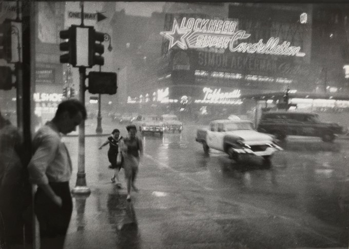 """Carl T. Gosset Jr./ The New York Times: """"This Photo Was Made Just before 4 P.M.  at Broadway and 43rd Street, Looking East across Times Square."""" July 24, 1959. (Courtesy of The Museum of Modern Art, New York. The New York Times Collection. © 2016 The New York Times)"""