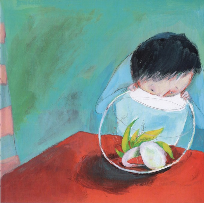 This Is a Poem That Heals Fish: An Almost Unbearably Wonderful Picture-Book About How Poetry Works Its Magic Artes & contextos poem fish1
