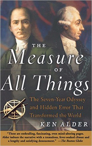 The Measure of All Things: How Two French Astronomers Nearly Lost Their Lives Revolutionizing the World with the Invention of the Meter