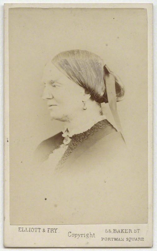 Margaret Gatty 1860 Portrait Gallery London