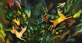 The Gold Leaf: An Enchanting Modern Fable About Possessiveness Redeemed by Unselfish Appreciation of Life's Shared Wonder